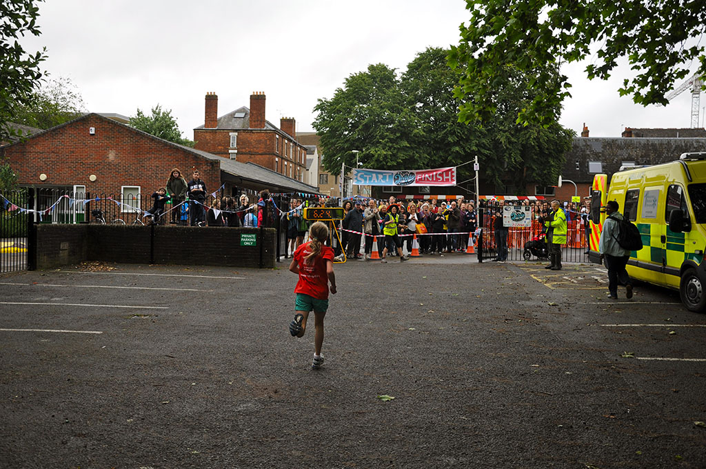 Run Jericho finish line