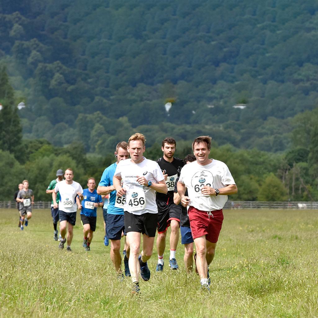 Run Jericho runners in Port Meadow