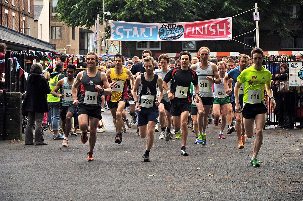 Run Jericho 10K runners start